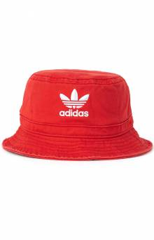 Originals Washed Bucket Hat - Lush Red