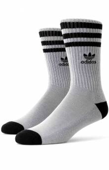 Roller Crew Socks - Light Onix