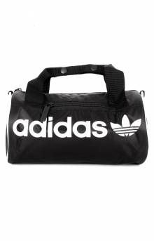 Santiago Mini Duffel Bag - Black/White