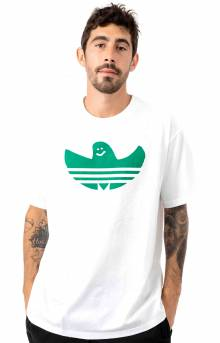 Shmoo Fill T-Shirt - White/Bold Green