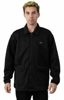 Utility Jacket - Black/Purple