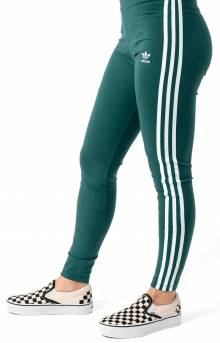 3 Stripes Leggings - Noble Green