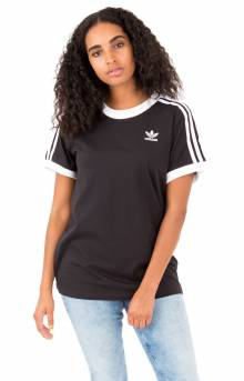 (CY4751) (ED7482) 3 Stripes T-Shirt - Black
