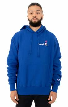 Akman Champion Pullover Hoodie - Blue