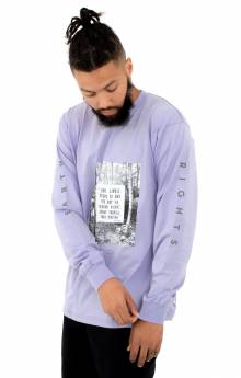 Earth Rights L/S Shirt - Lavender