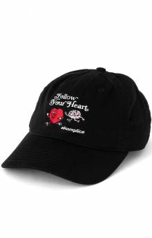 Follow Your Heart Dad Hat - Black