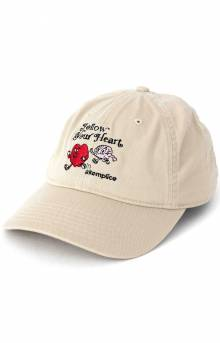 Follow Your Heart Dad Hat - Oyster