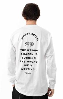 The Wrong Amazon L/S Shirt - White