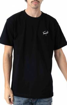 Tranquilo Embroidered T-Shirt - Black