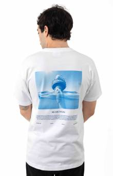 We Are The Ocean T-Shirt - White