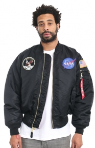 Alpha Industries Clothing, Apollo MA-1 Jacket - Black