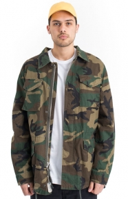 Alpha Industries Clothing, Dragon Tour Field Coat - Woodland Camo