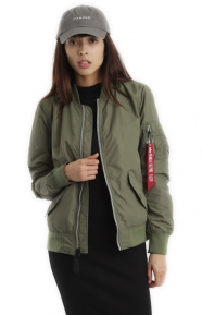 Alpha Industries Clothing, L-2B Scout Womens Jacket - Sage Green