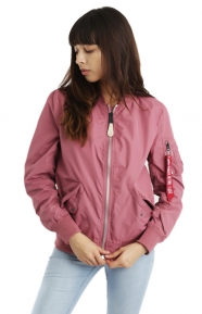 Alpha Industries Clothing, L-2B Scout Womens Jacket - Tulip