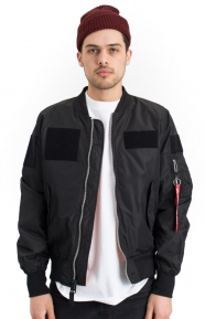 Alpha Industries Clothing, L‑2B Flex Flight Jacket - Black