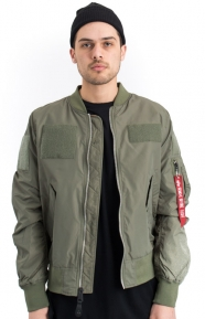 Alpha Industries Clothing, L‑2B Flex Flight Jacket - Sage