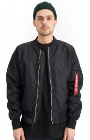 Alpha Industries Clothing, L‑2B Scout Flight Jacket - Black