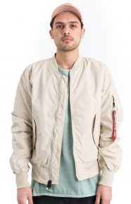 Alpha Industries Clothing, L‑2B Scout Flight Jacket - Vintage White