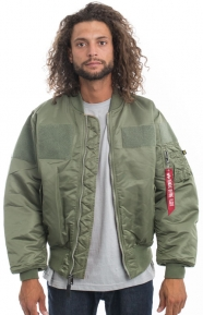 MA-1 Flex Jacket - Sage Green