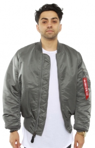 Alpha Industries Clothing, MA-1 Flight Jacket - Gunmetal