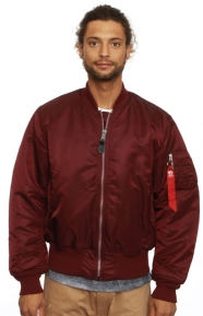 MA-1 Flight Jacket - Maroon