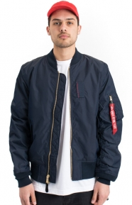Alpha Industries Clothing, MA-1 Skymaster Flight Jacket- Replica Blue