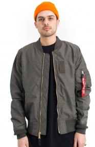 Alpha Industries Clothing, MA-1 Skymaster Flight Jacket- Replica Grey
