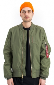 Alpha Industries Clothing, MA-1 Skymaster Flight Jacket - Sage Green