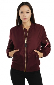 MA-1W Women's Jacket - Maroon