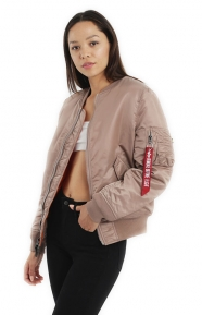 MA-1W Women's Jacket - Mauve