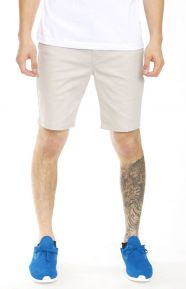 Altamont Clothing, Davis Slim Short - Grey/Silver