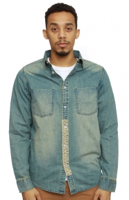 Altamont Clothing, Zefer Button-Up Shirt - Faded wash