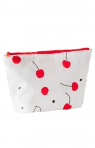 Medium Carry All Pouch - Cherry