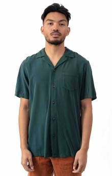 Nashua S/S Button-Up Shirt - Seaweed