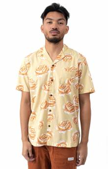 Pollen S/S Button-Up Shirt - Seaweed