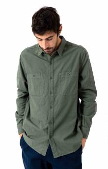 Somedays Button-Up Shirt - Green Marine