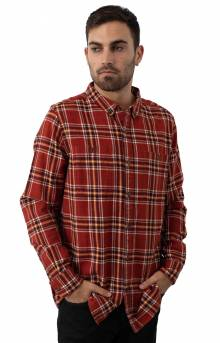 Vanish Button-Up Shirt - Rust