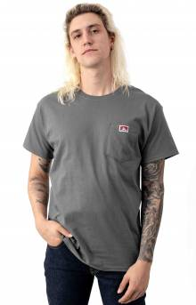 Classic Label Pocket T-Shirt - Charcoal