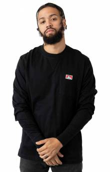 Heavy Duty L/S Pocket Shirt - Black