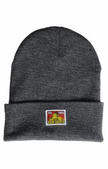 Logo Beanie - Heather Charcoal