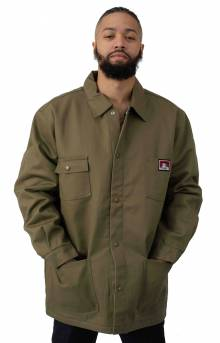 Original Front Snap Jacket - Army Green