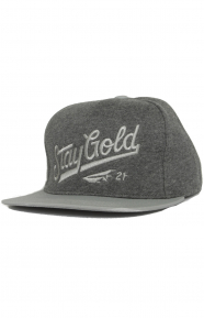 All Star Fleece Strap-Back Hat - Charcoal