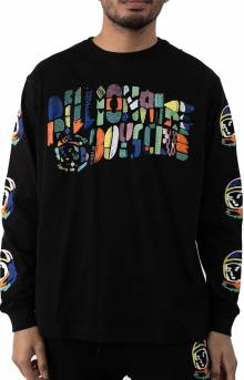 BB Abstract Arch L/S Knit - Black
