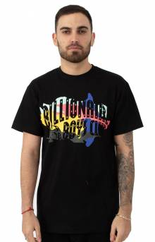 BB Arch Camo T-Shirt - Black