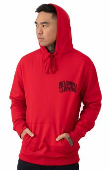 BB Arch Pullover Hoodie - Tango Red