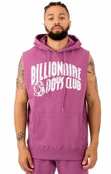 BB Arch Zip Pullover Hoodie - Bordeaux