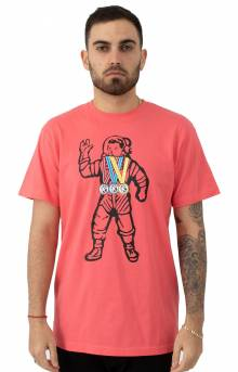 BB Astro Medals T-Shirt - Coral
