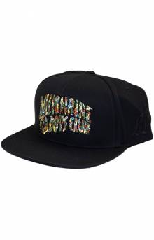BB Camo Snap-Back Hat - Black