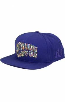 BB Camo Snap-Back Hat - Blueprint