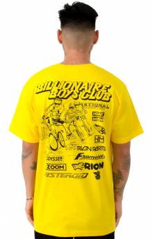 BB Flags T-Shirt - Yellow